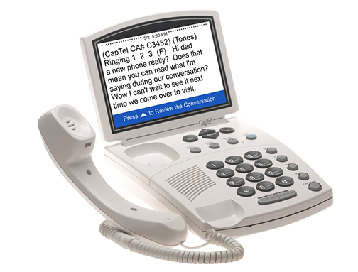 Captioned 840i Telephone
