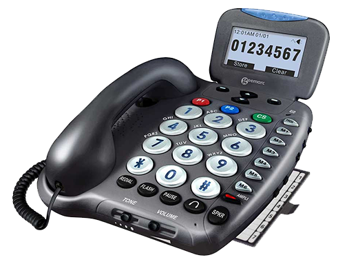 Geemarc Amplified Corded Telephone