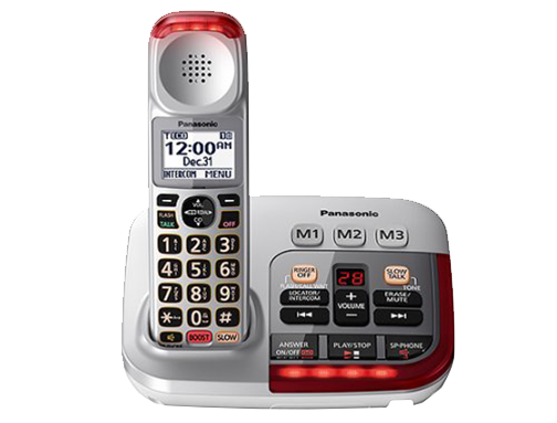 Panasonic Amplified Cordless Telephone
