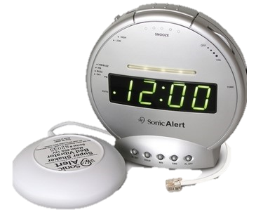 Vibrating Alarm Clock & Telephone Signaler